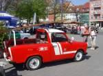 Feuerwehrfahrzeuge/66118/feuerwehr-trabi-zu-gast-auf-dem-domplatz Feuerwehr-Trabi zu Gast auf dem Domplatz Erfurt
