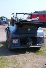 Traktoren/79956/lanz-traktor-zu-gast-im-bw-weimar Lanz-Traktor zu Gast im Bw Weimar, um 2004